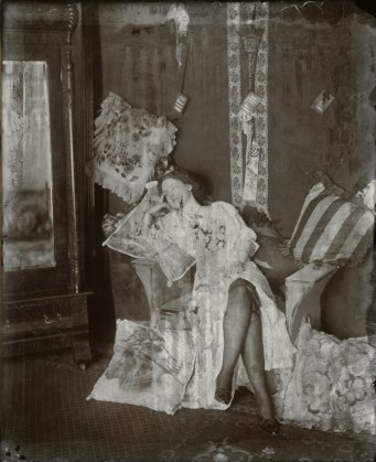 Storyville Portrait, ca. 1912, printing-out paper, gold toned