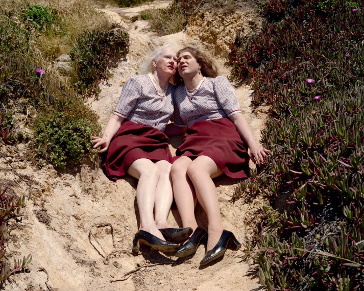 Gale and Dale (Best Friends), Point Lobos, 2006, pigment print