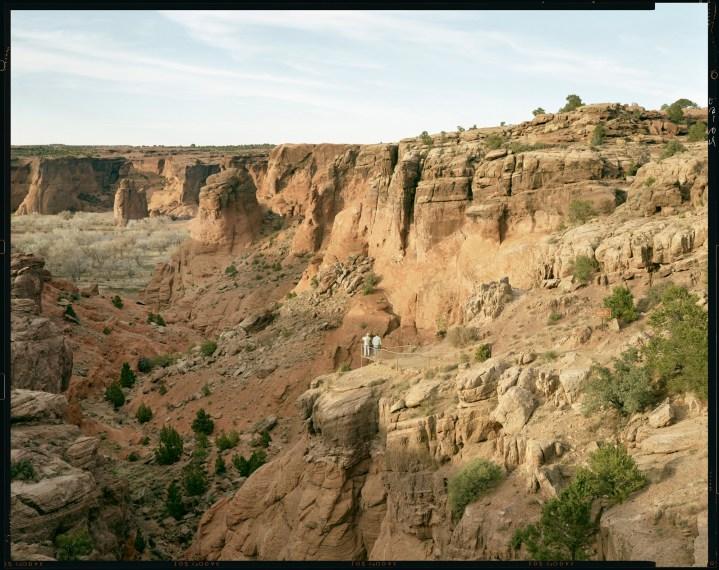 Tourists, Utah, 1994, pigment print