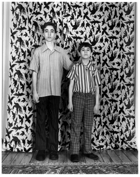 Michael and Evan, 2003, gelatin-silver print