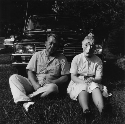Lucybelle Crater and her P.O. brother Lucybelle Crater, 1970-72, gelatin-silver print