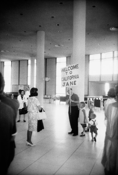 Los Angeles International Airport, 1964, gelatin-silver print