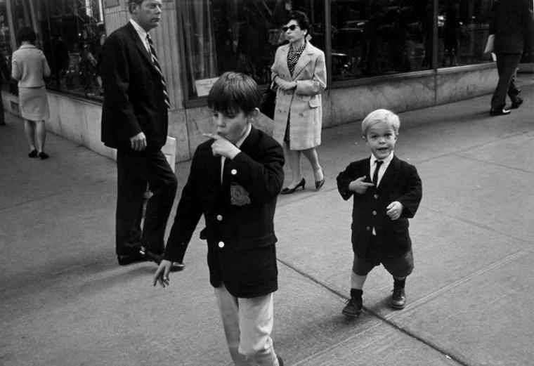 New York, 1966, gelatin-silver print