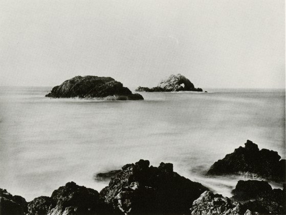 CARLETON E. WATKINS: Seal Rocks, Farallon Islands, c. 1868