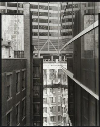 View of Arch Street, Boston, 2008, gelatin-silver print