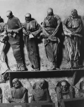 Palermo Catacombs #11, 1963, gelatin-silver print