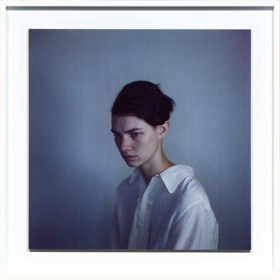 Harmony white shirt, 2011, unique Ilfochrome photograph