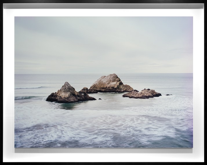 Seal Rocks, San Francisco, 2017, chromogenic contact print