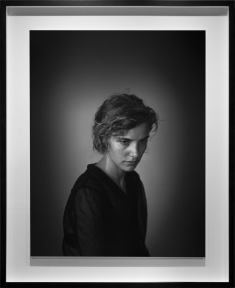 Agnes, July 2013 (1), 2013, gelatin-silver contact print