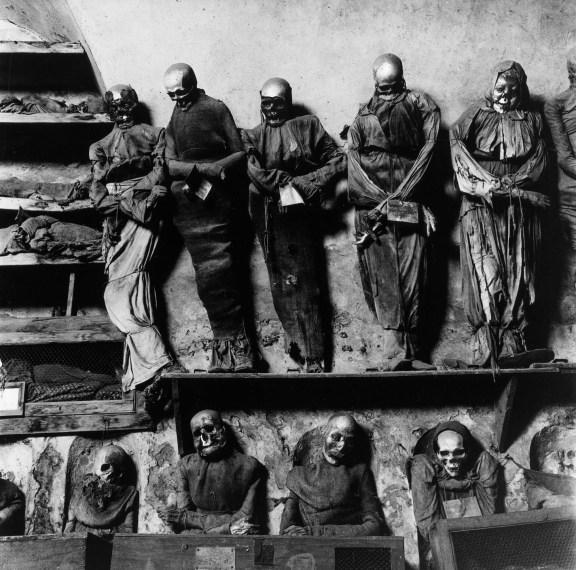 Palermo Catacombs #11, 1963, gelatin-silver print