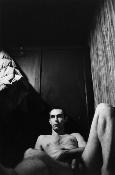 Self-Portrait in the Baths, 1975, gelatin-silver print