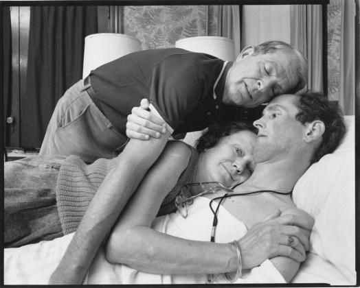 Robert Sappenfield and His Parents, Dorchester,Massachusetts, 1988