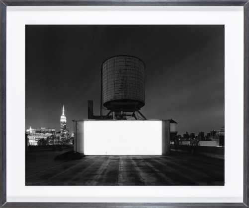Hiroshi Sugimoto, Wolf Building Rooftop, New York, 2015