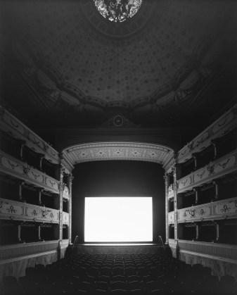 Hiroshi Sugimoto, Teatro dei Rozzi, Siena, 2014