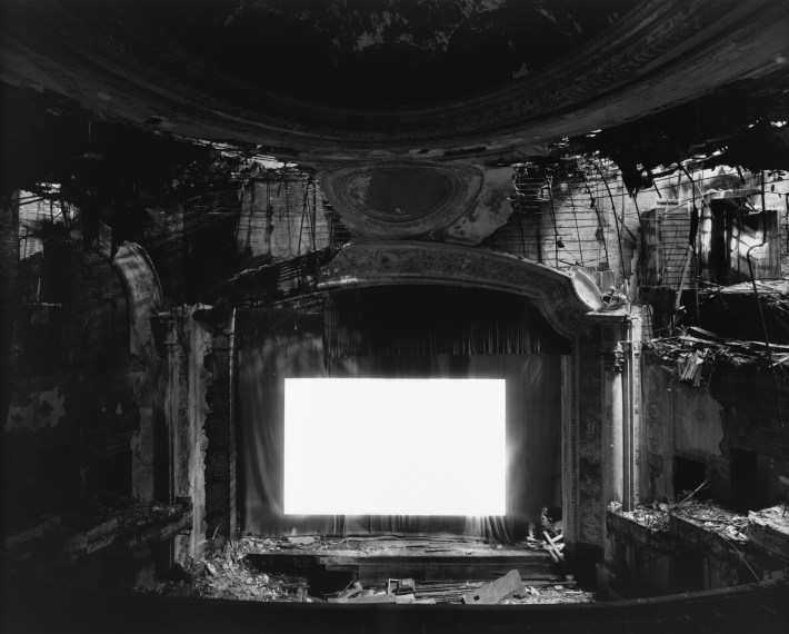 Paramount Theater, Newark, 2015, gelatin-silver print
