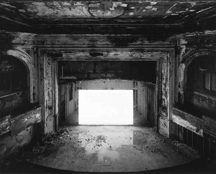 Franklin Park Theater, Boston, 2015, gelatin-silver print