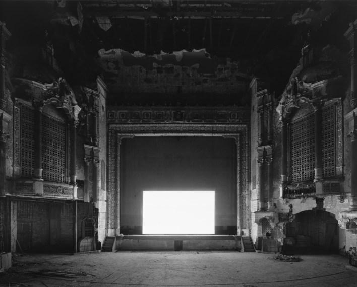 Kenosha Theater, Kenosha, 2015, gelatin-silver print