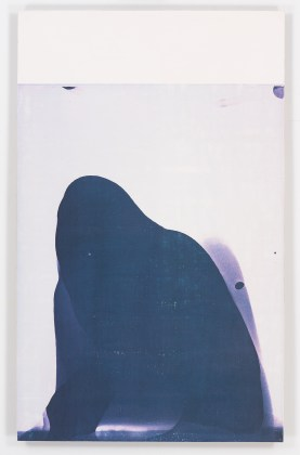 R. H. Quaytman, I Love–The Eyelid Clicks/I See/Cold Poetry, Chapter 18 , 2010, Silkscreen ink, gesso on wood
