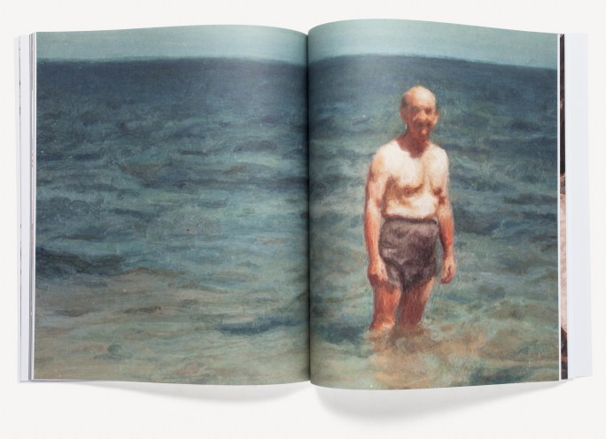 Book of photorealistic paintings