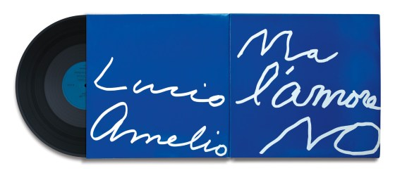 Cy Twombly, Ma l'amore No by Lucio Amelio, 1990, record album