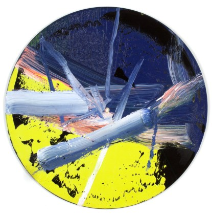 Gerhard Richter, Goldberg-Variationen (Butin 060), 1984, oil on vinyl record