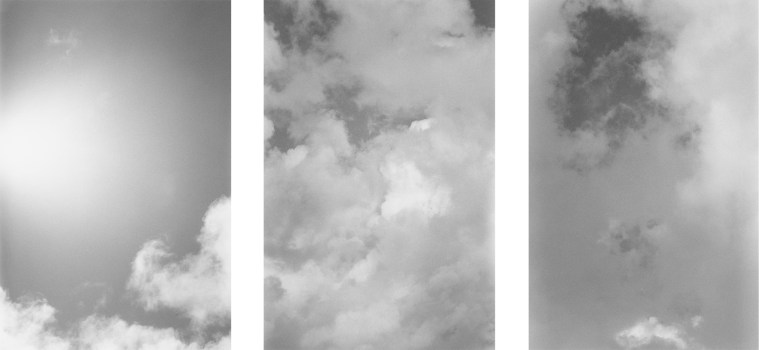 Afternoon Sky, 2014, gelatin-silver print