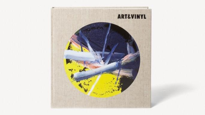 Book of vinyl records