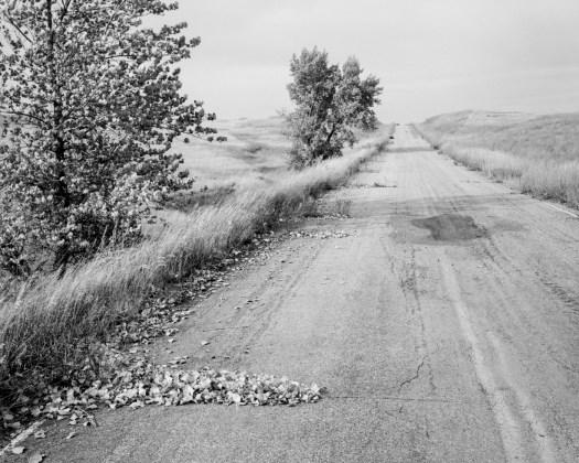 Nebraska State Highway 2. Box Butte County, Nebraska, 1978