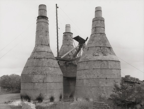 Photograph of a lime kiln