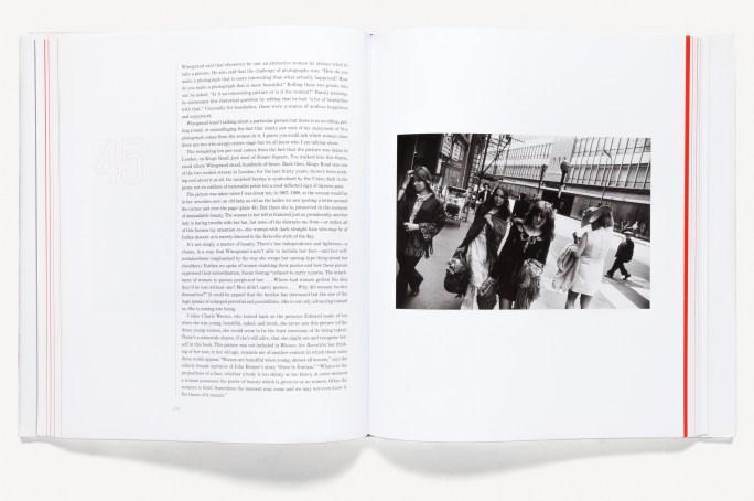 Open book of street photographs