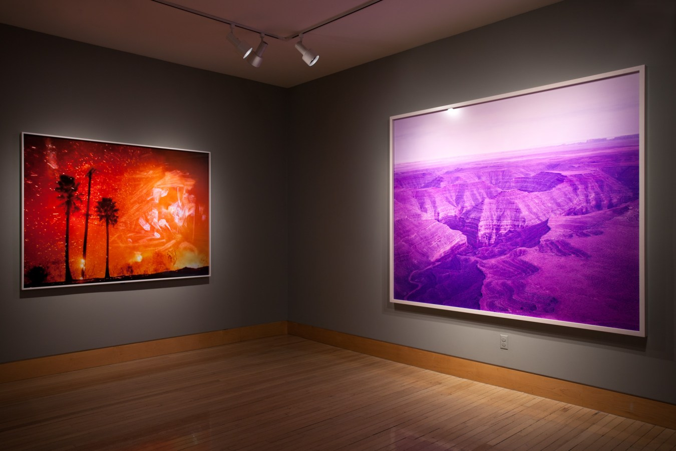 Installation view of Another West