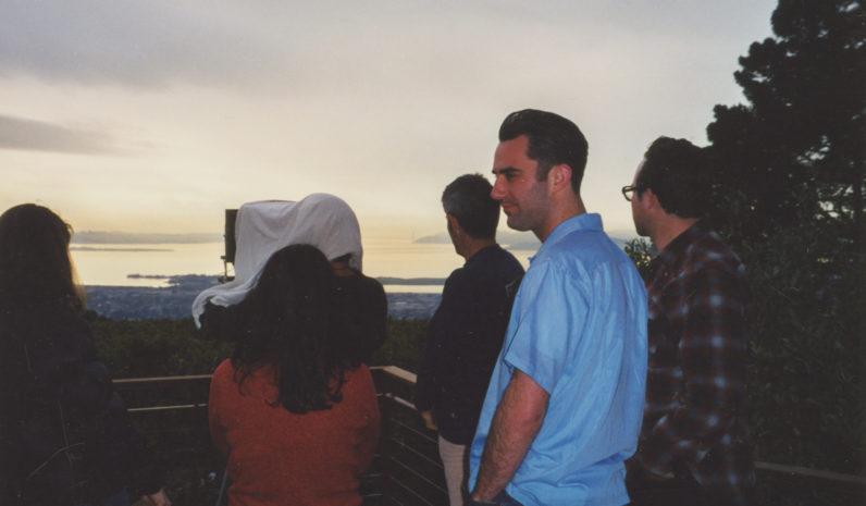 Richard Misrach shooting his Golden Gate Bridge series