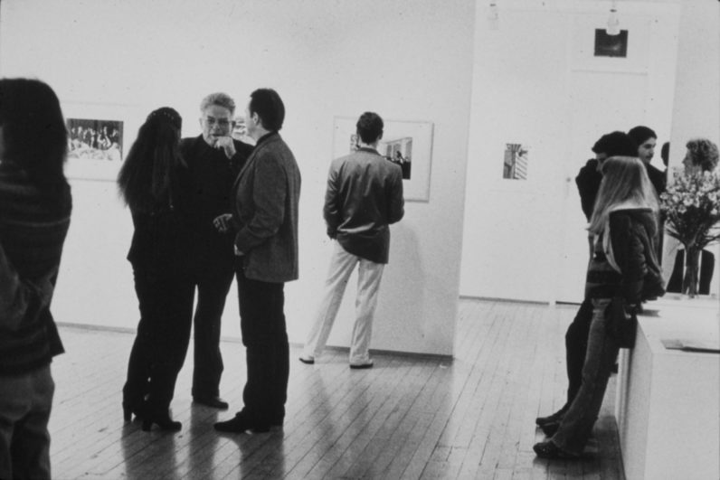 Garry Winogrand in our 1980 exhibition, Retrospective