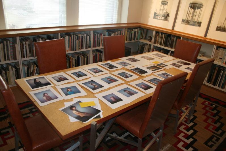 Preparing for Richard Learoyd, Presences, 2011