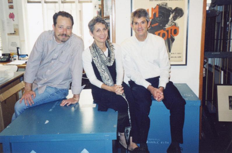 Ken Clanton, Frish Brandt, and Jeffrey Fraenkel