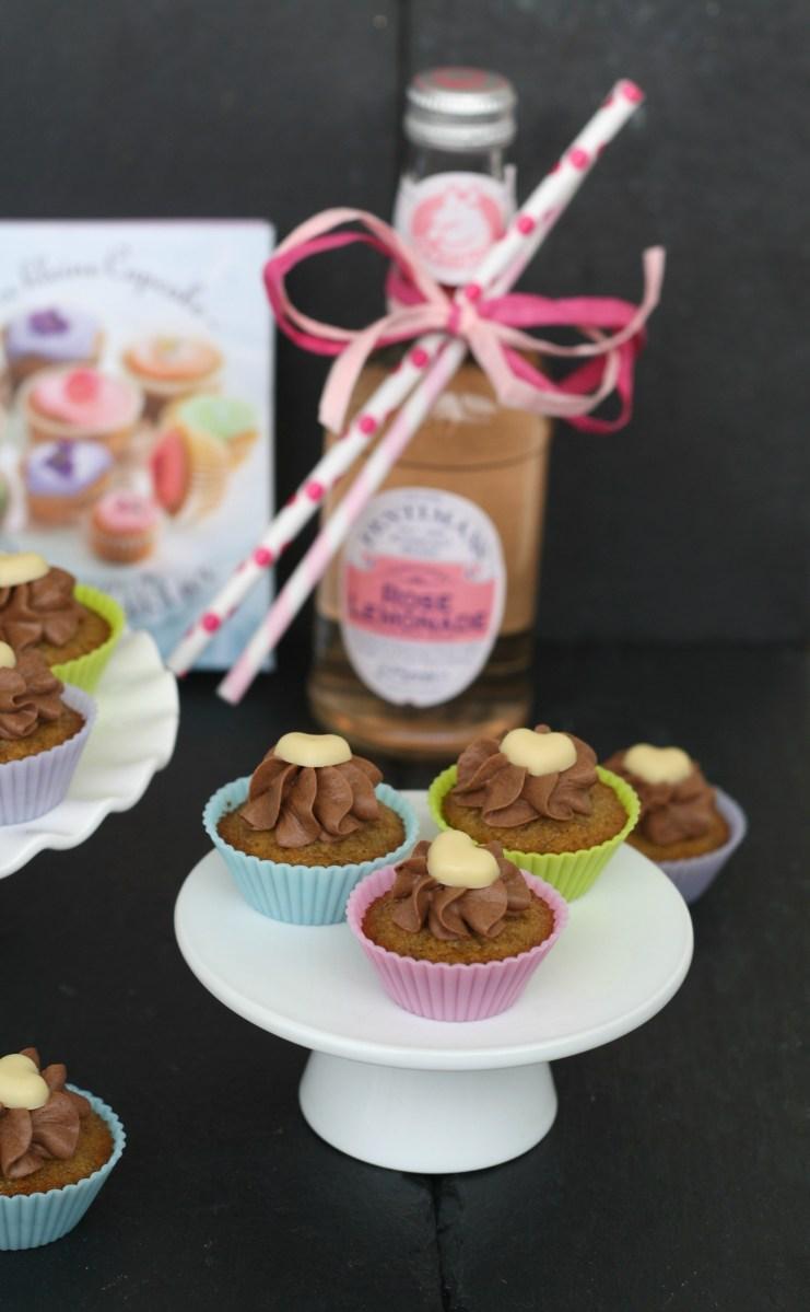 Mini Cupcakes mit Banane und Schokocreme  Werbung