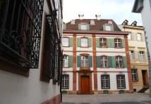 Basel Alte Häuser in der Altstadt