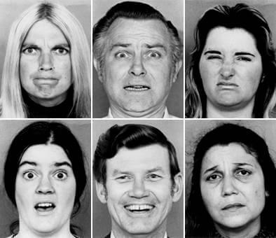 The Six Basic Emotions