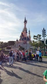 Castle of Fun with pesky tourists