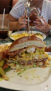 Though Annette's has pretty fulfilling burgers as well (50/50 burger is pictured)