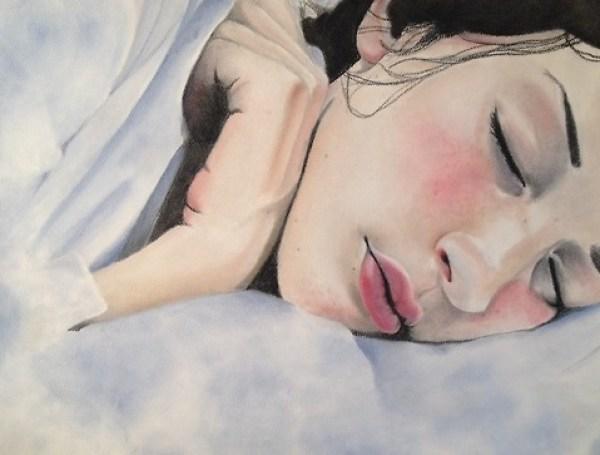 close eyed girl pt sleepy