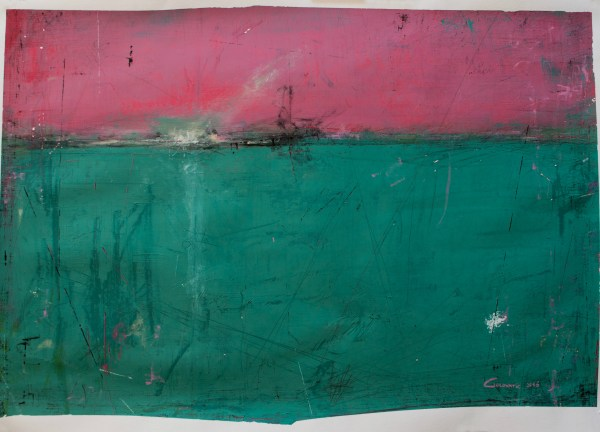 Nr XV,  Acrylics on A1 paper (59x84cm), 2016  Cristina Golovatic