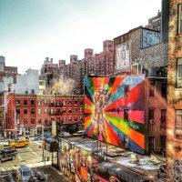Munleen Sibia, NYC Graffiti, 2017