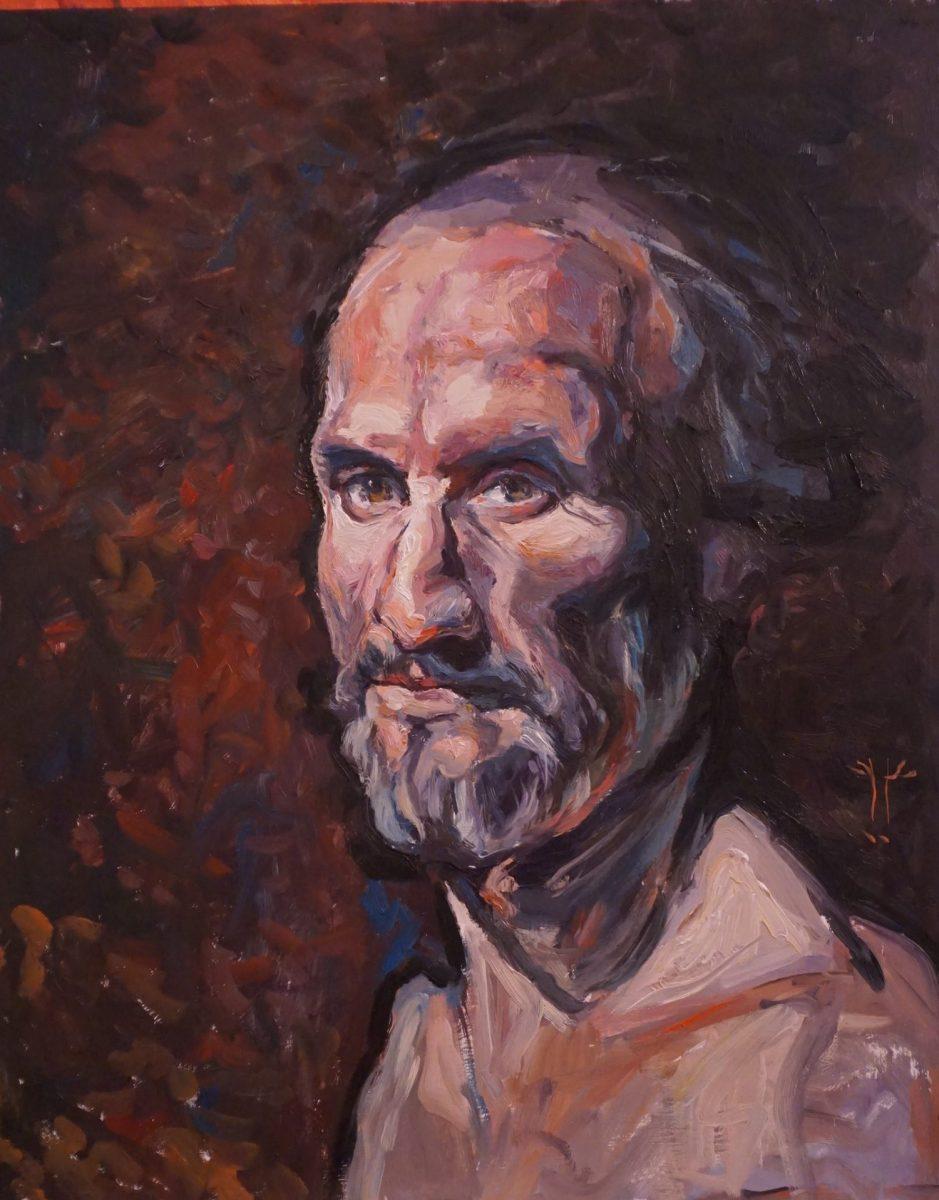 Jelen Rogaczynski, Portrait of a Man, 2017