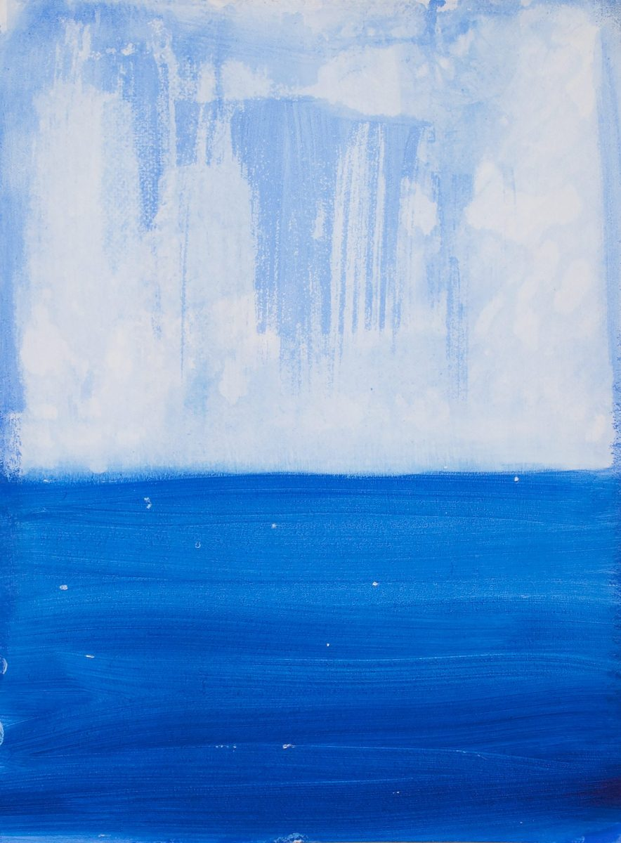 Lika Kalandadze, Deep Blue Sea, 2018