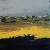 Michel Garnier, 188 Landscape Colza, 2018