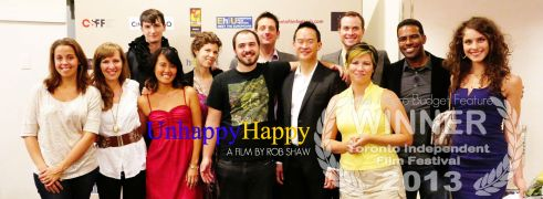 Unhappy Happy Cast & Crew at TiFF