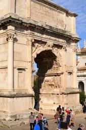 Rzym_Forum Romanum 04_Łuk Tytusa