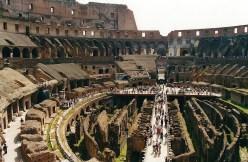 Rzym_Koloseum_wnętrze 01