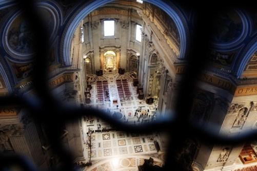 Rzym_balkon w Kopule Bazyliki św. Piotra w Watykanie 001